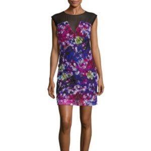 Sandro Reveil Floral-Print Dress